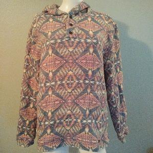 Faherty Women's Hooded Sweatshirt Southwestern